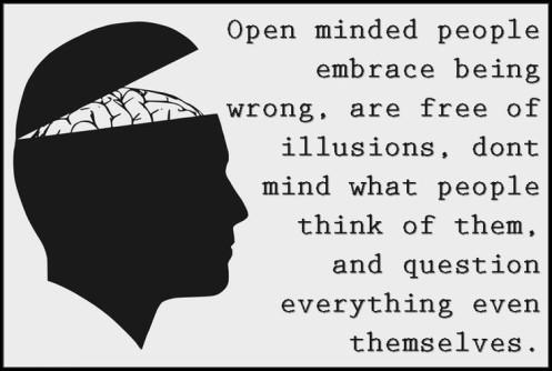 Resultado de imagen de open minded
